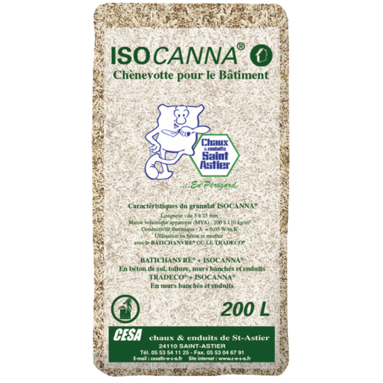 CHANVRE ISOCANNA NORMAL 200L 20KG