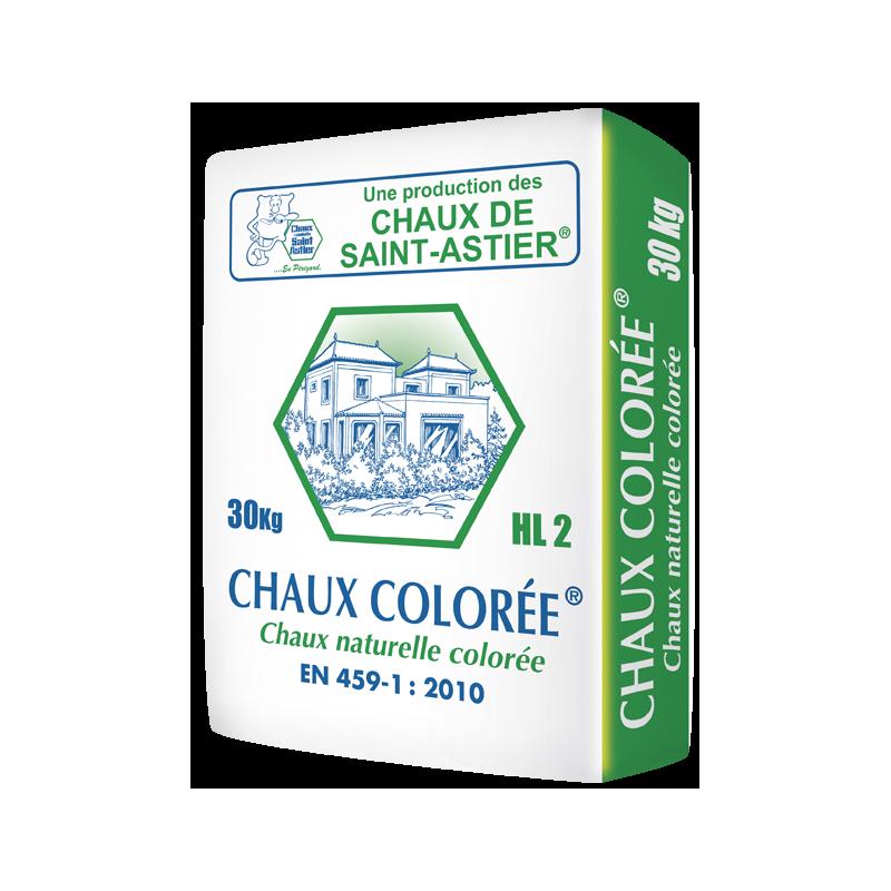 ASTIER CHAUX COLORÉ 30KG