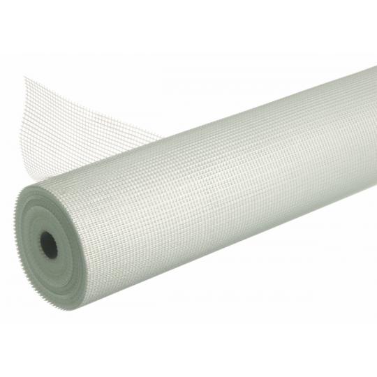 TREILLIS EN FIBRE DE VERRE - MAILLE 10x10mm - ROULEAU 1x50ML