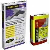 KIT WEBER.SYS IMPACT 5M² + WEBERCOL RAPID GRIS