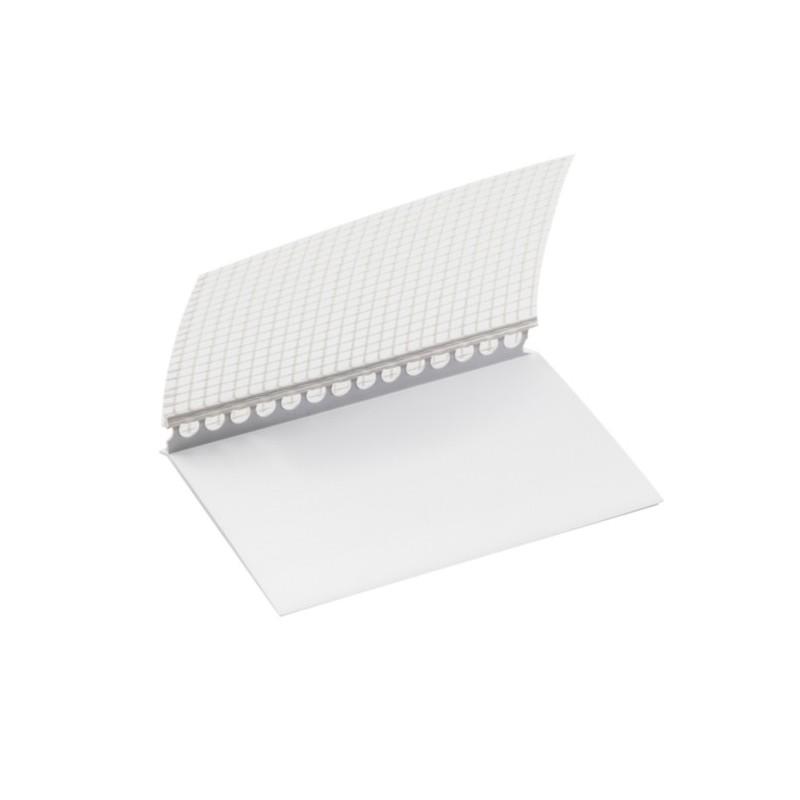 PROFIL ENTOILÉ POUR RAIL DÉPART PVC - 2ML - Lot de 10 pièces