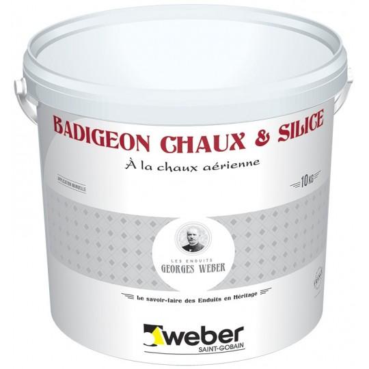 WEBER BADIGEON CHAUX ET SILICE 10KG (WEBER.PRODEXOR K+S)