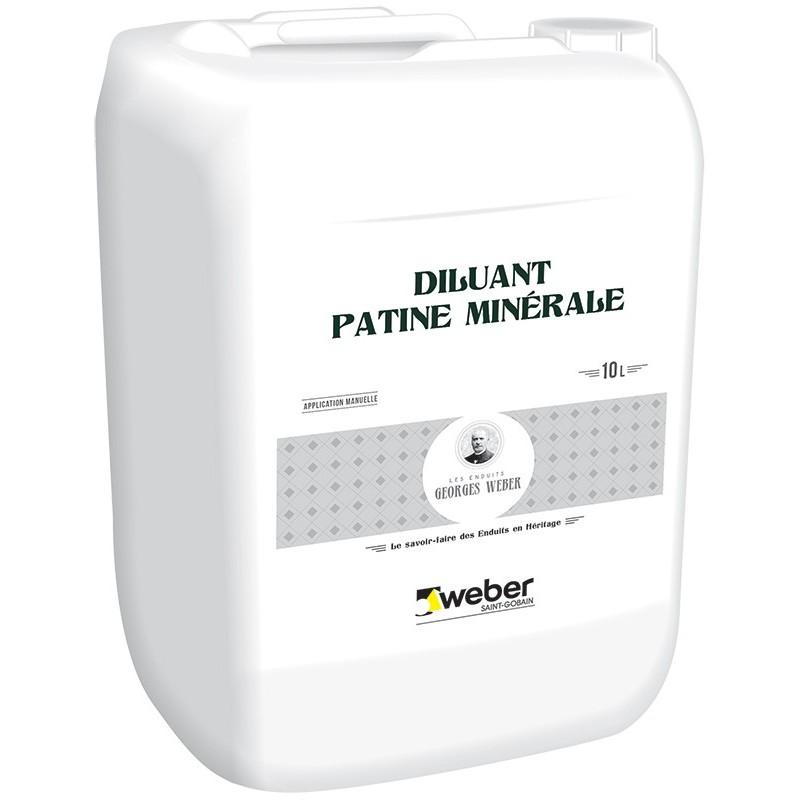 WEBER DILUANT PATINE MINERALE 10L (WEBER.UNITON DILUANT)