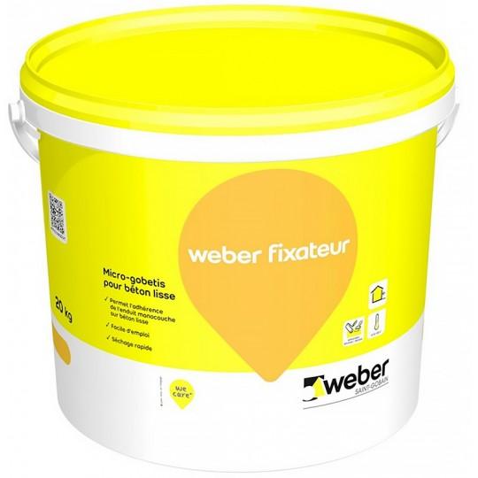 WEBER FIXATEUR - Primaire d'accrochage monocouche 20KG