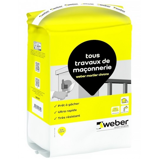 WEBER MORTIER CHRONO 5KG (Lot de 4)