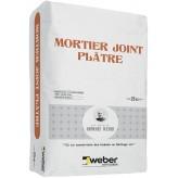 WEBER MORTIER JOINT PLATRE 25KG (WEBER.CIT JOINT PLATRE)