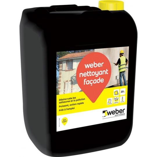 WEBER NETTOYANT FAÇADE 20L