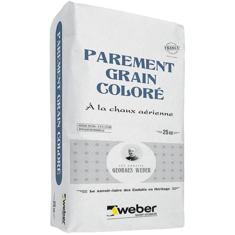 WEBER PAREMENT GRAIN COLORÉ 25KG