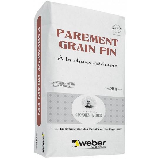 WEBER PAREMENT GRAIN FIN 25KG (WEBER.CAL F)