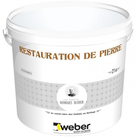 WEBER RESTAURATION DE PIERRE DM 21KG (WEBER.CIT RESTAUR DM)