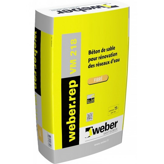 WEBEREP VM 218 FIBRÉ 25KG