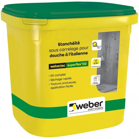 WEBERTEC SUPERFLEX D2 KIT 24KG
