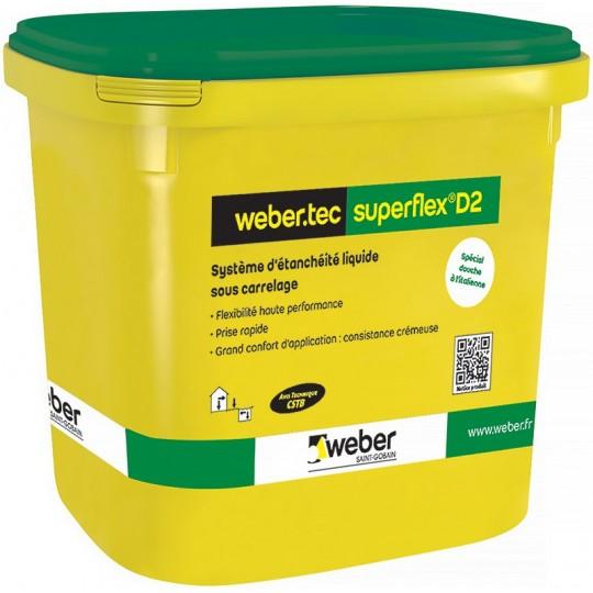 WEBERTEC SUPERFLEX D2 LIQUIDE 15L