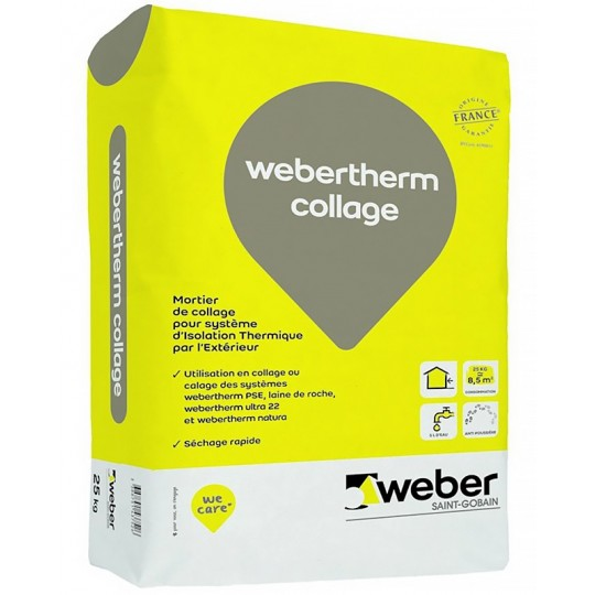 WEBERTHERM COLLAGE 25KG