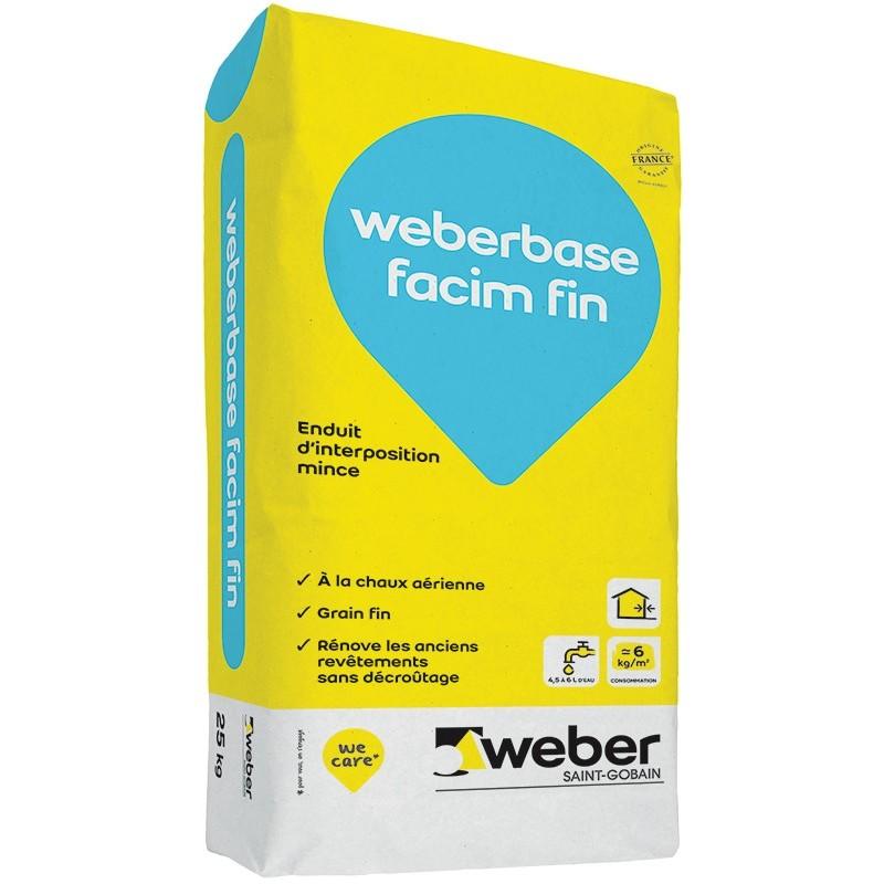 WEBERBASE FACIM FIN 25KG (WEBER.FACIM SF)
