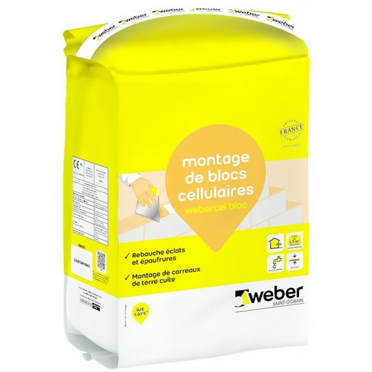 WEBERCEL BLOC 25KG (WEBER.CEL BLOC)
