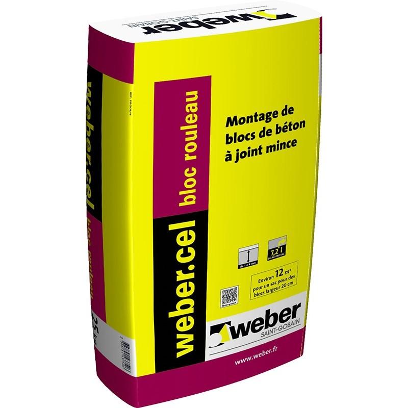 WEBERCEL BLOC ROULEAU 25KG (WEBER.CEL BLOC)