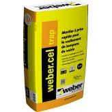 WEBERCEL TRAP - NOIR - 25KG (WEBER.CEL TRAP)