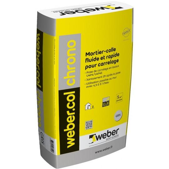 WEBERCOL CHRONO - GRIS - 25KG (WEBER.COL CHRONO)