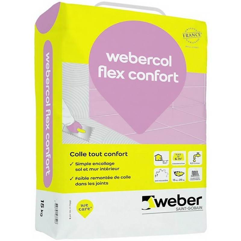 WEBERCOL FLEX CONFORT 15KG (WEBER.COL FLEX)