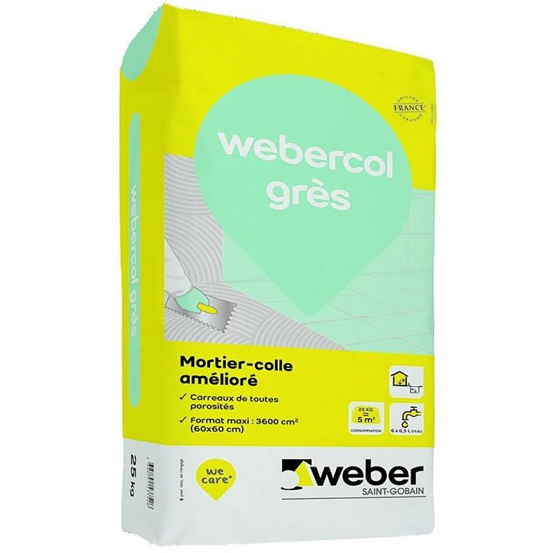 WEBERCOL GRÈS 25KG (WEBER.COL GRÈS)