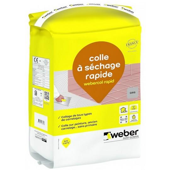 WEBERCOL RAPID - GRIS - 5KG (WEBER.COL RAPID)