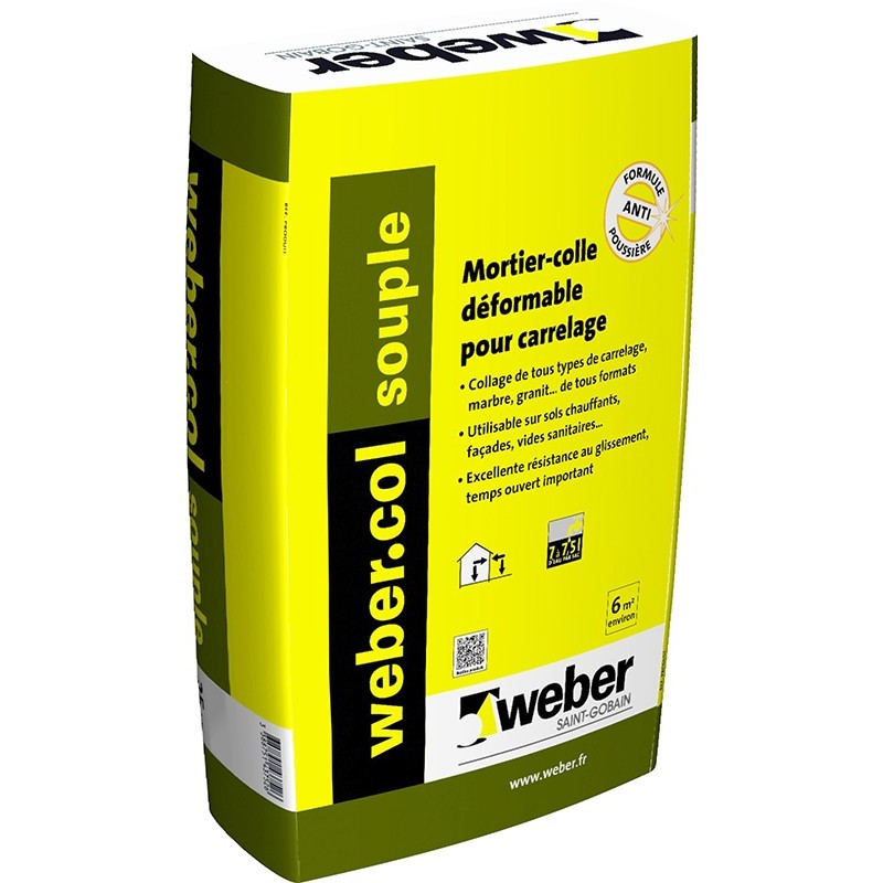 WEBERCOL SOUPLE 25KG (WEBER.COL SOUPLE)