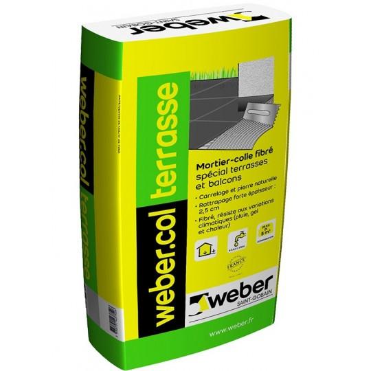 WEBERCOL TERRASSE 25KG (WEBER.COL TERRASSE)