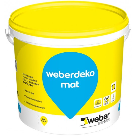 WEBERDEKO MAT 4L (WEBER.TENE COLOR)
