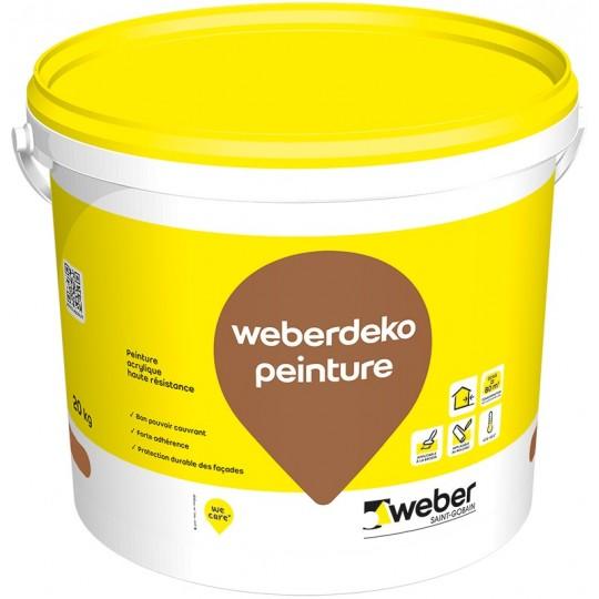 WEBERDEKO PEINTURE 20KG (WEBER PEINTURE)