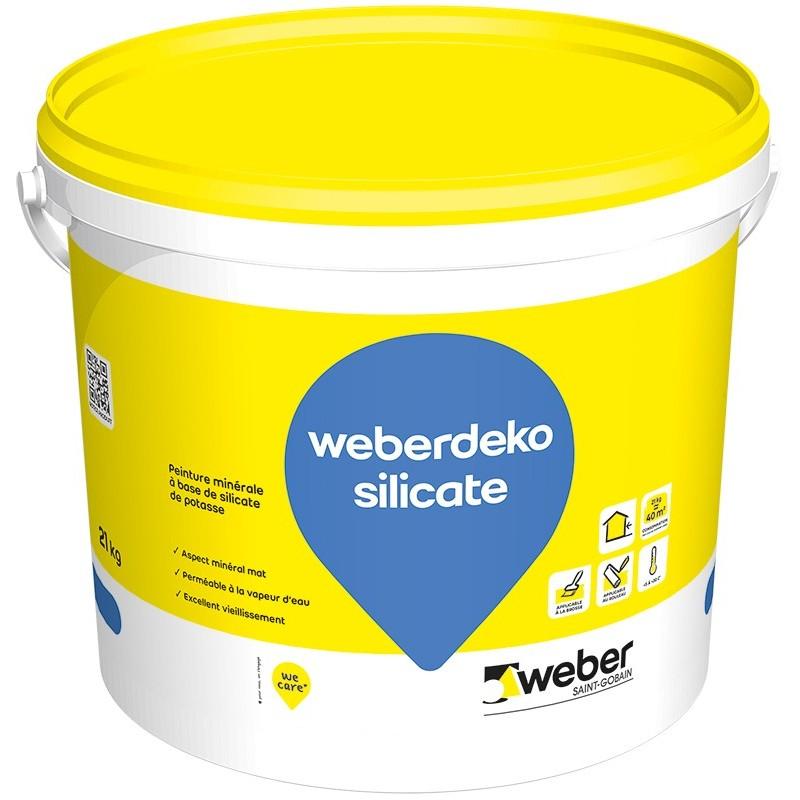 WEBERDEKO SILICATE 21KG (WEBER PEINTURE SILICATE)