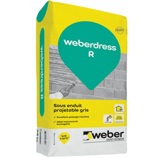 WEBERDRESS R 25KG (WEBER.DRESS R)