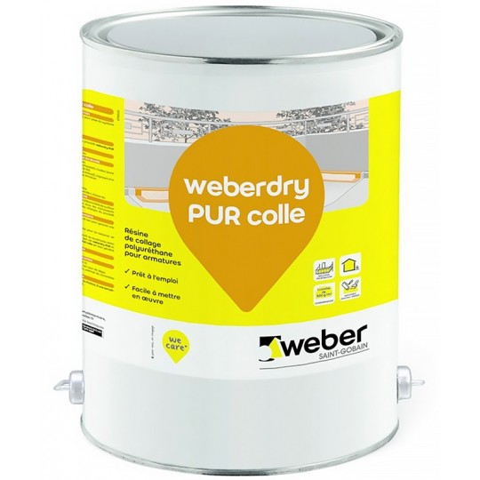 WEBERDRY PUR COLLE 25KG
