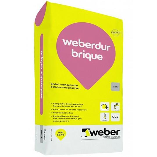 WEBERDUR BRIQUE 25KG