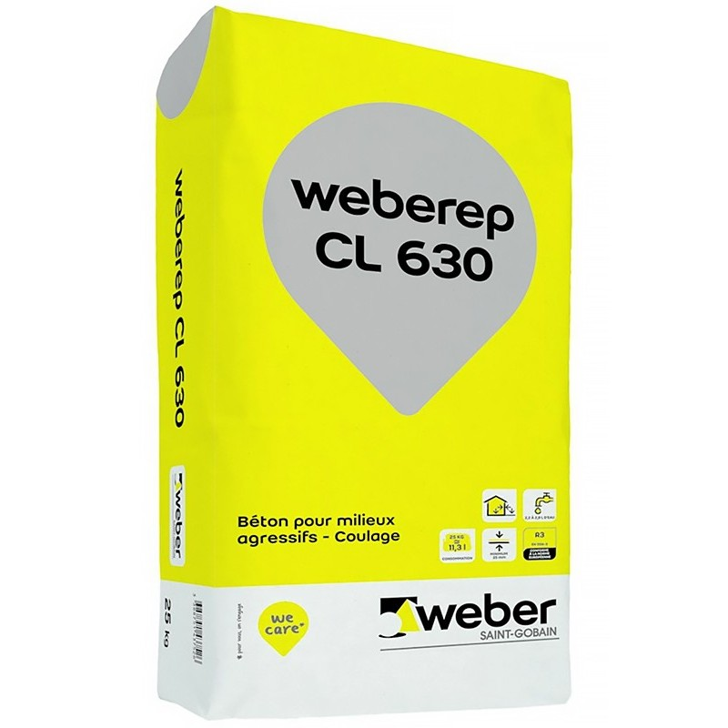 WEBEREP CL 630 25KG