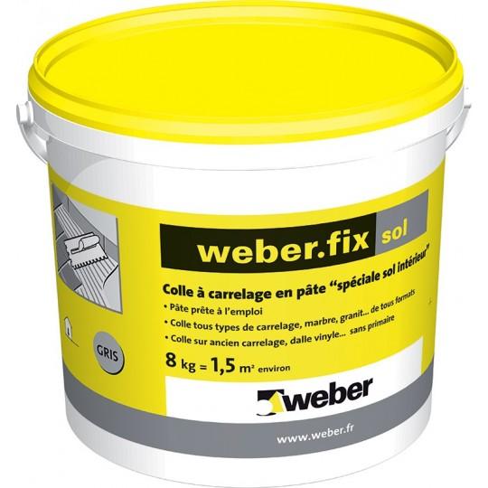 WEBERFIX SOL GRIS 8KG (WEBER.FIX SOL)