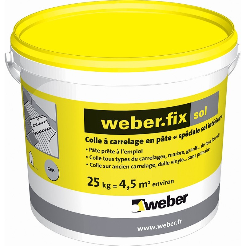 WEBERFIX SOL GRIS 25KG (WEBER.FIX SOL)