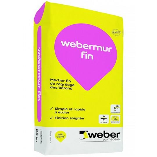 WEBERMUR FIN 25KG (WEBER.MUR FIN)