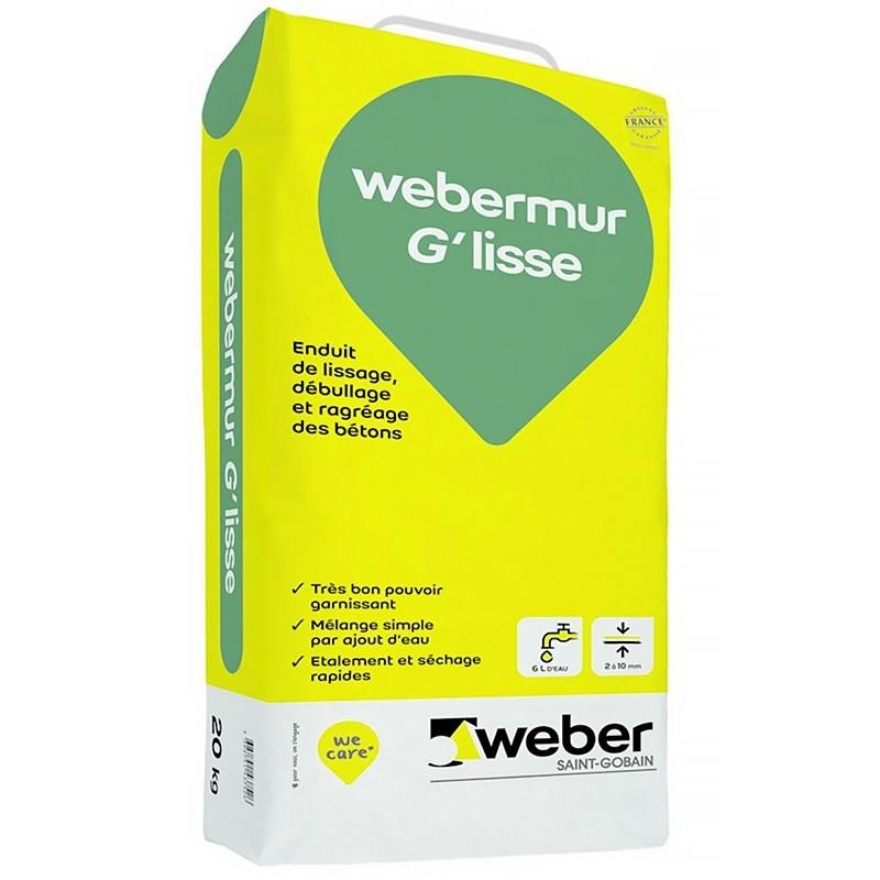 WEBERMUR G'LISSE SAC POIGNÉE 20KG (WEBER.MUR G'LISSE)