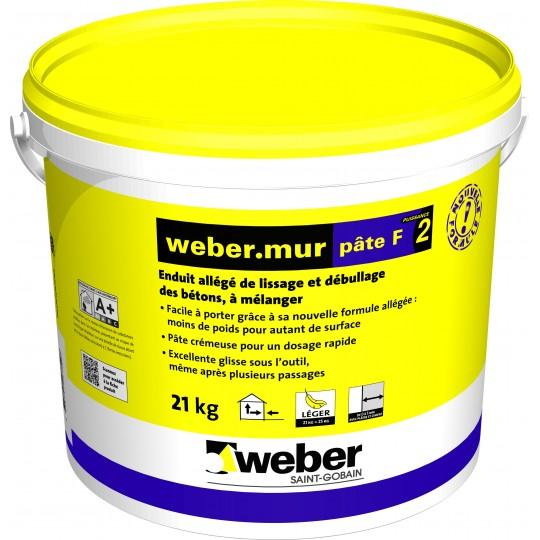 WEBERMUR PÂTE F² 21KG (WEBER.MUR PÂTE F²)