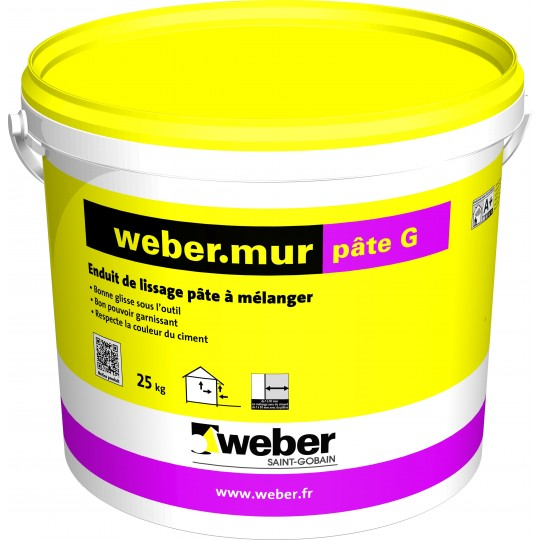 WEBERMUR PÂTE G 25KG (WEBER.MUR PÂTE G)