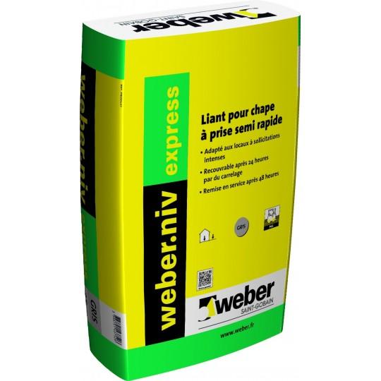 WEBERNIV EXPRESS Liant 25KG (WEBER.NIV EXPRESS)