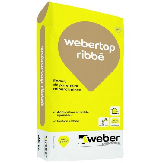 WEBERTOP RIBBÉ 25KG (WEBER.UNICOR DPP)