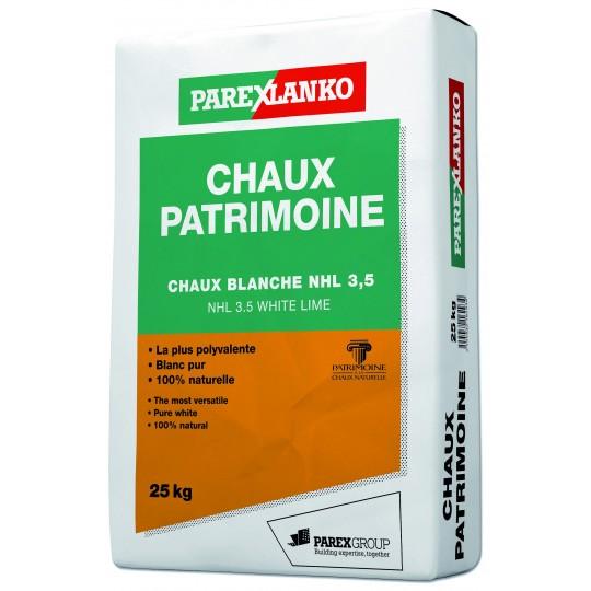 CHAUX PATRIMOINE 25KG - PALETTE (40 sacs)