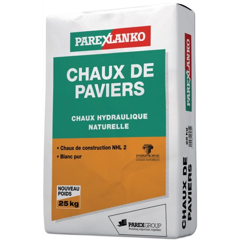 CHAUX DE PAVIERS 25KG - PALETTE (40 sacs)