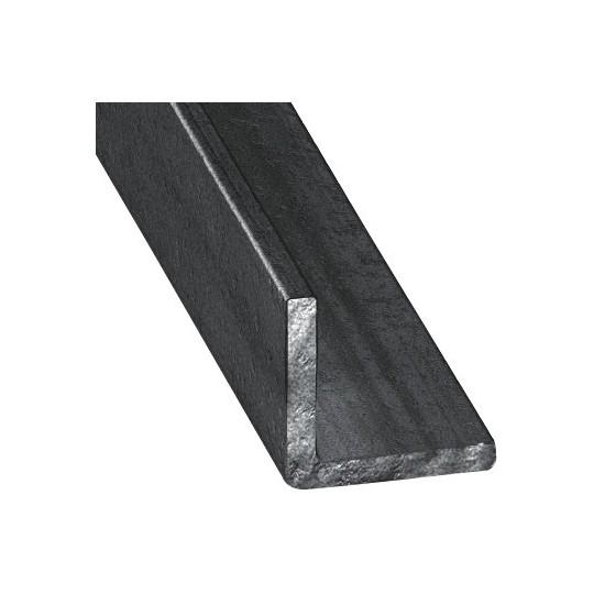 Cornière inégale 40 x 20 mm - ep. 4 mm