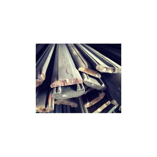 Main-courante Moulurée acier doux - 45 x 15 mm