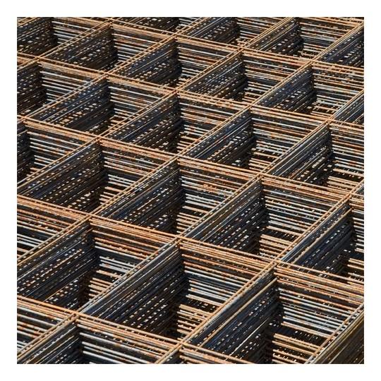 Treillis soudé panneau ST 25 - 6 x 2,40 m - maille 15 x 30 cm - Ø fil 7 mm