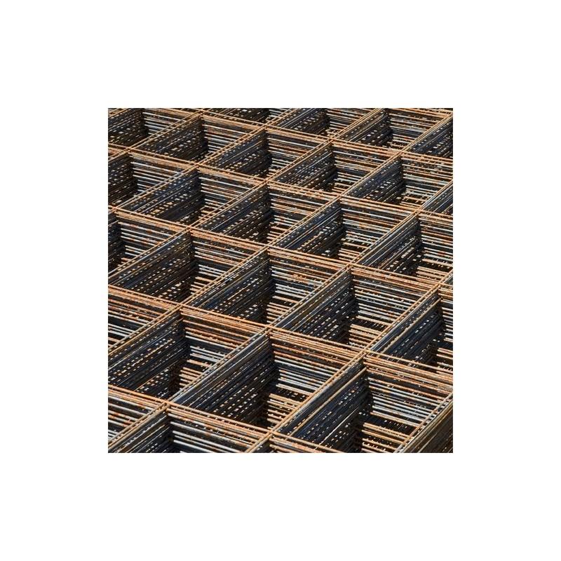 Treillis soudé panneau ST 65C - 6 x 2,40 m - maille 10 x 10 cm - Ø fil 9 mm