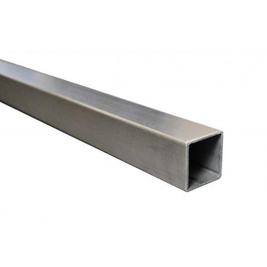 Tube carré acier 25 x 25 mm